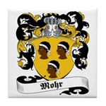 Mohr Family Crest Tile Coaster