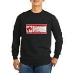 Rated Polish Long Sleeve Dark T-Shirt