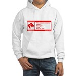 Rated Polish Hooded Sweatshirt