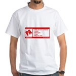Rated Polish White T-Shirt