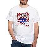 Munch Family Crest White T-Shirt