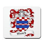 Munch Family Crest Mousepad