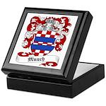Munch Family Crest Keepsake Box
