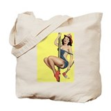 Fireman Girl Tote Bag