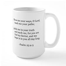 Hope Psalm 25:4-5 Mug