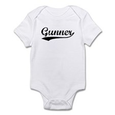 Vintage Gunner (Black) Infant Bodysuit