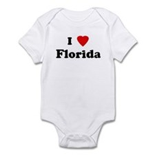 I Love Florida Infant Bodysuit