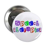"Speech Therapist Colors 2.25"" Button"
