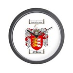 O'Brien Family Crest Wall Clock