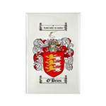 O'Brien Family Crest Rectangle Magnet (10 pack)
