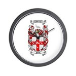 Nolan Family Crest Wall Clock
