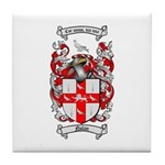 Nolan Family Crest Tile Coaster