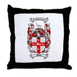 Nolan Family Crest Throw Pillow