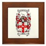 Nolan Family Crest Framed Tile