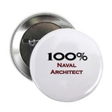 "100 Percent Naval Architect 2.25"" Button"