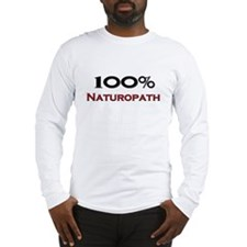 100 Percent Naturopath Long Sleeve T-Shirt
