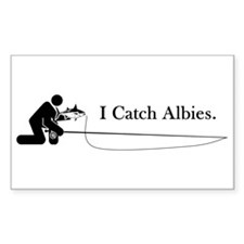 """I Catch Albies"" Rectangle Decal"