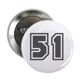 "Number 51 2.25"" Button"