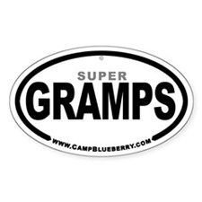 Super Gramps Oval Decal