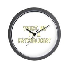 Trust Me I'm a Psychologist Wall Clock