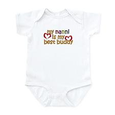 Nanni is My Best Buddy Infant Bodysuit