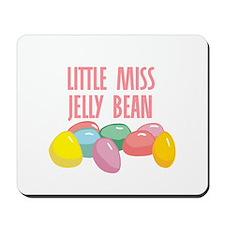 Little Miss Jelly Bean Mousepad
