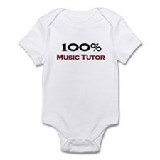 100 Percent Music Tutor Infant Bodysuit