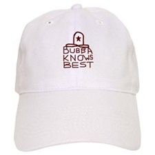 Bubba Knows Best Texas Cowboy Baseball Cap