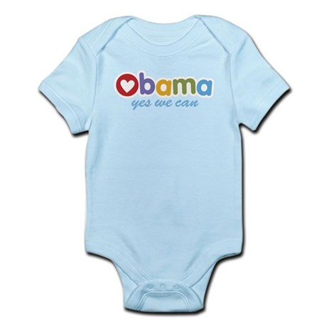 Obama Yes We Can Infant Bodysuit