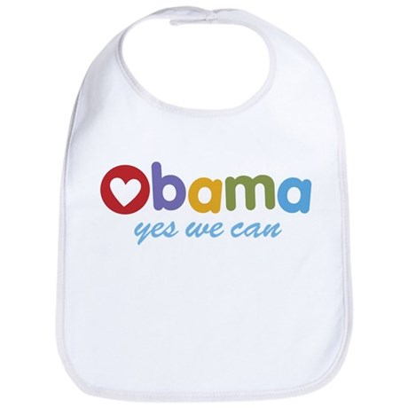Obama Yes We Can Bib