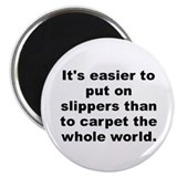 "Al franken quote 2.25"" Magnet (100 pack)"