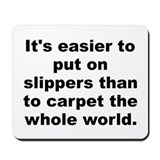 Al franken quote Mousepad