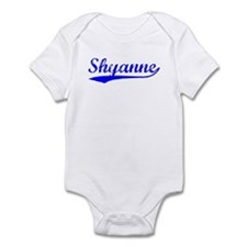 Vintage Shyanne (Blue) Infant Bodysuit