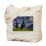 Starry Night Dobie Tote Bag