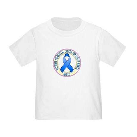 Colorectal Cancer Month Toddler T-Shirt