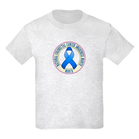 Colorectal Cancer Month Kids Light T-Shirt