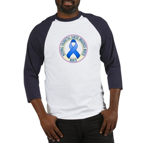 Colorectal Cancer Month Baseball Jersey