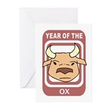 Ox Greeting Cards (Pk of 10)