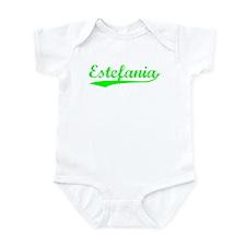 Vintage Estefania (Green) Onesie