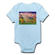 Autumn Angel & Lakeland Terrier Infant Bodysuit