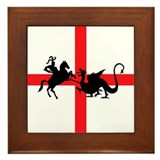 St George's Day Framed Tile