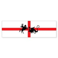 St George's Day Bumper Bumper Sticker