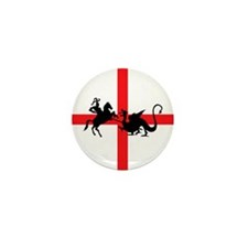 St George's Day Mini Button (10 pack)