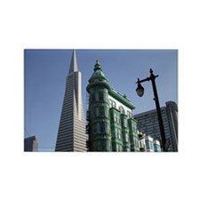 San Francisco Contrast Rectangle Magnet (10 pack)