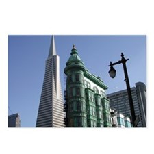 San Francisco Contrast Postcards (Package of 8)