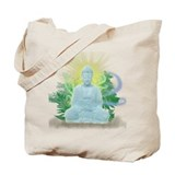 Buddha Trees Tote Bag