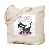 Cute Zuzu cat Tote Bag