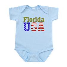 Florida USA Infant Bodysuit