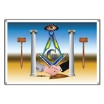Masonic Eye in the Sky Banner