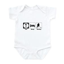 Eat. Sleep. Hockey. Infant Bodysuit